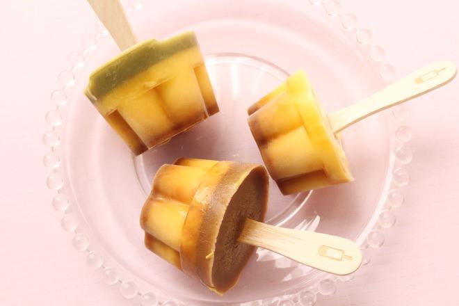 凍らせプリンで暑い夏を楽しもう♡スーパーで買ったプリンをまるごと凍らせて簡単で美味しいオリジナルアイスをつくる!